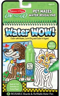 PET MAZES-WATER WOW! ON-THE-GO