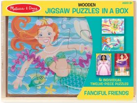FANCIFUL FRIENDS PUZZLES/BOX