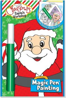 SANTA'S WORKSHOP MAGIC PEN PAINTING