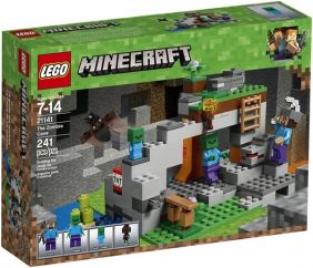 THE ZOMBIE CAVE-MINECRAFT SET