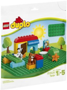 LARGE GREEN DUPLO PLATE