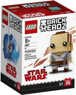 STAR WARS REY-BRICK HEADZ SET