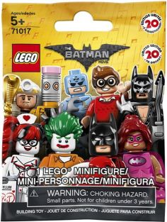 THE LEGO BATMAN MOVIE MINIFIGU