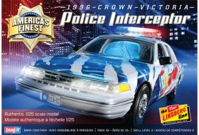 1/25 '96 CROWN VIC POLICE INTE