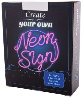 CREATE YOUR OWN NEON SIGN KIT