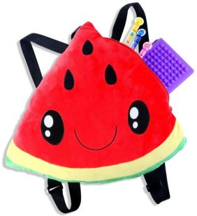WATERMELON SCENTED PLUSH BACKP