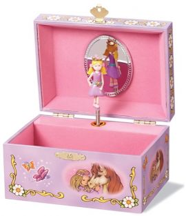 BUTTERFLY PRINCESS MUSIC BOX #