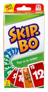 SKIP-BO CARD GAME #42050