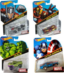 HOT WHEELS MARVEL CHARACTER DI
