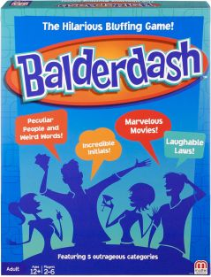BALDERDASH GAME #CFX43 BY MATT