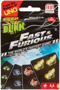 BLINK FAST & FURIOUS CARD GAME