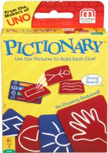 PICTIONARY CARD GAME #T5132 BY