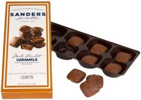 MILK CHOCOLATE CARAMELS 3.75 O