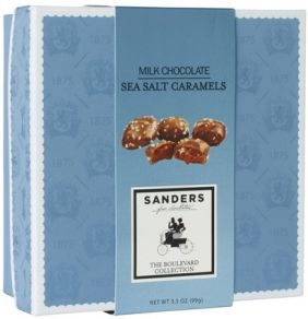 MILK CHOCOLATE SEA SALT CARAMEL (BOX)