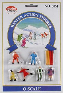 O WINTER ACTION FIGURES