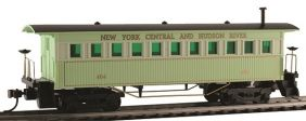 HO 1860 WOODEN COACH NYC