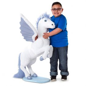 LIFELIKE PLUSH PEGASUS