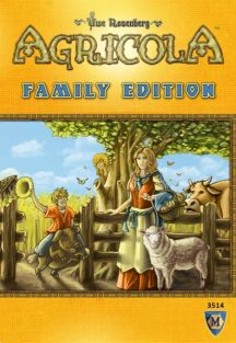 AGRICOLA FAMILY EDITION GAME #