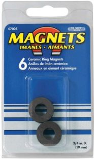 ".75""ODX.3""IDX.118"" RING MAGNET"