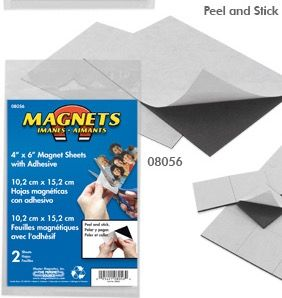 "4""X6"" FLEXIBLE MAGNETIC SHEETS"