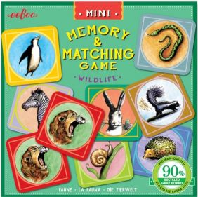 WILDLIFE MINI MEMORY & MATCHING