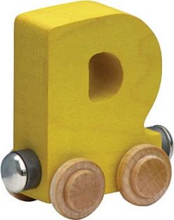 WOODEN ALPHABET TRAIN-LETTER D