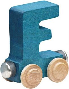 WOODEN ALPHABET TRAIN-LETTER F