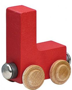 WOODEN ALPHABET TRAIN-LETTER L
