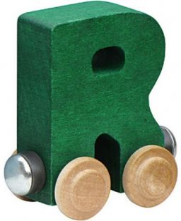 WOODEN ALPHABET TRAIN-LETTER R