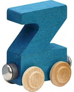 WOODEN ALPHABET TRAIN-LETTER Z