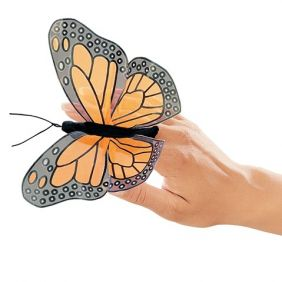 MINI MONARCH BUTTERFLY FINGER