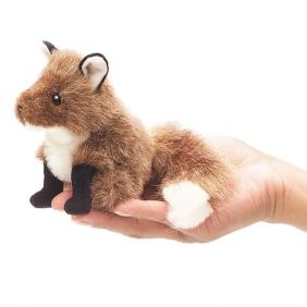 MINI FOX FINGER PUPPET #2644 B