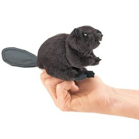 MINI BEAVER FINGER PUPPET #265