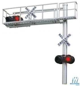 HO CANTILEVER CROSSING SIGNAL