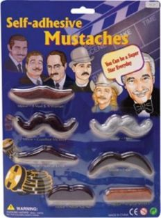 SELF-ADHESIVE MUSTACHES #MUST