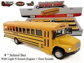 SCHOOL BUS LIGHT & SOUND 8""