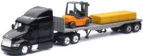 1/43 PETERBILT 387 & TRAILER W/ FLATBED
