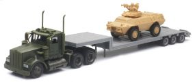 1/43 KENWORTH MILITARY W/ARMOR