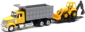 NEW RAY 1/43 INT'L LONESTAR DUMP TRUCK
