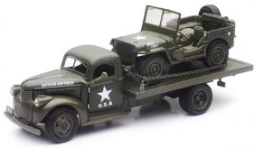 1/32 '41 CHEVY TRUCK & WILLYS