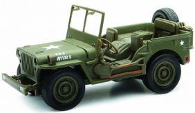 1/32 WILLYS JEEP DIECAST #6105