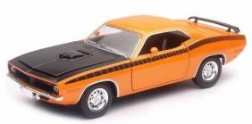 NEW RAY 1/24 1970 PLYMOUTH CUDA DIE-CAST CAR #71873