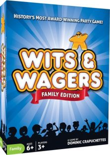 WITS & WAGERS FAMILY EDITION G