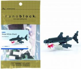 NANOBLOCK GREAT WHITE SHARK BUILDING SET #082