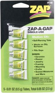 ZAP-A-GAP SINGLE USE TUBES (5)