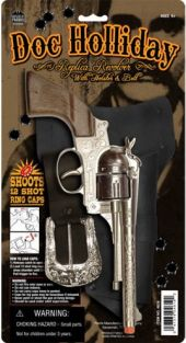 DOC HOLLIDAY CAP HOLSTER SET