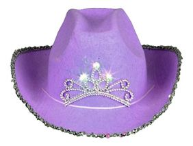 LILAC COWGIRL HAT