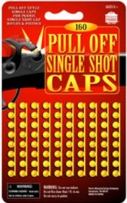 PULL OFF SINGLE SHOT CAPS-144