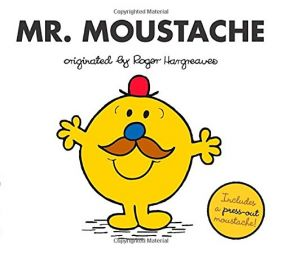 MR. MOUSTACHE BOOK