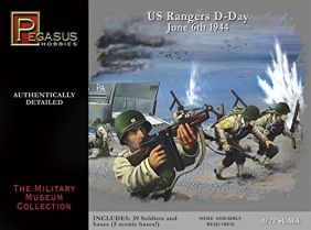 (SALE) 1/72 US RANGERS D-DAY 1944 FIG